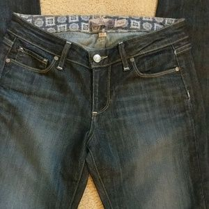 Paige Dark Wash Skyline Jeans